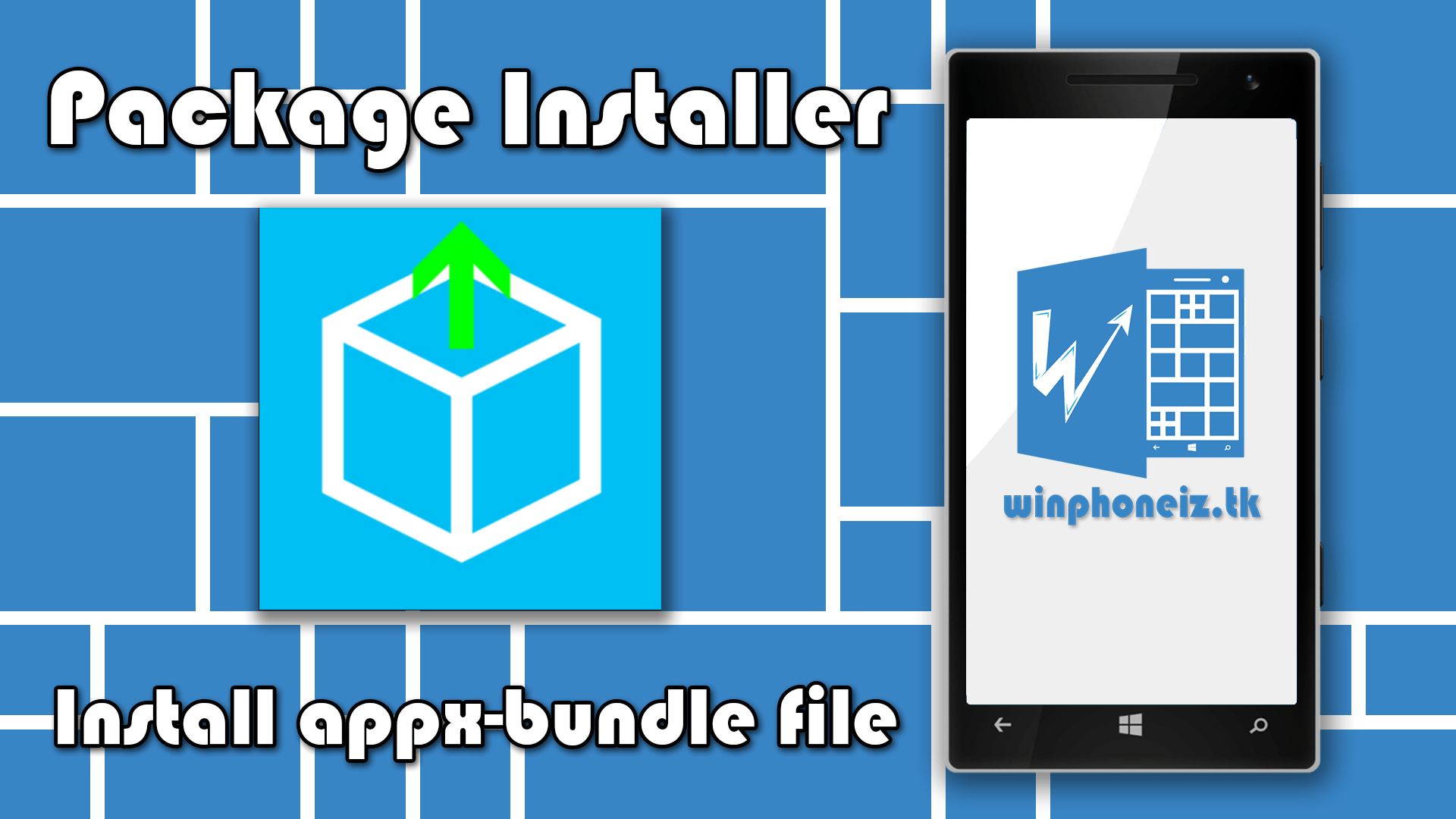 Read more about the article Package Installer Công cụ cài file APPX APPXBUNDLE